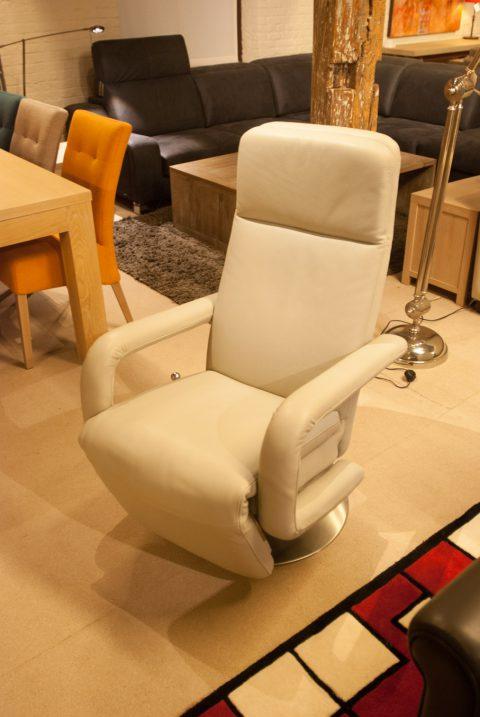 1-zit zetel relax wit