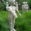 Familie in keramiek door Sabine Carlier