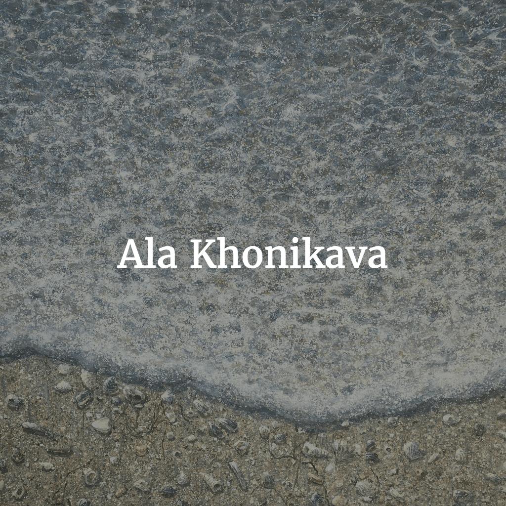 Ala Khonikava