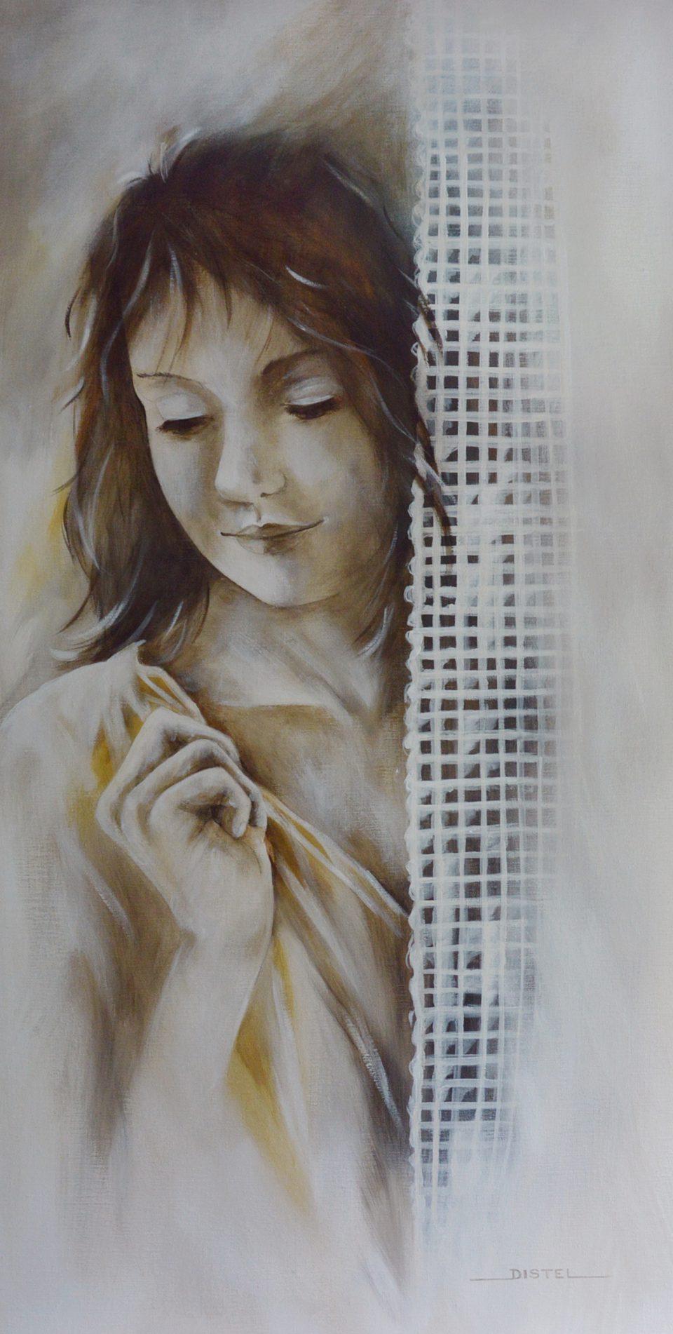 Distel - Behind the curtain 60 x 120