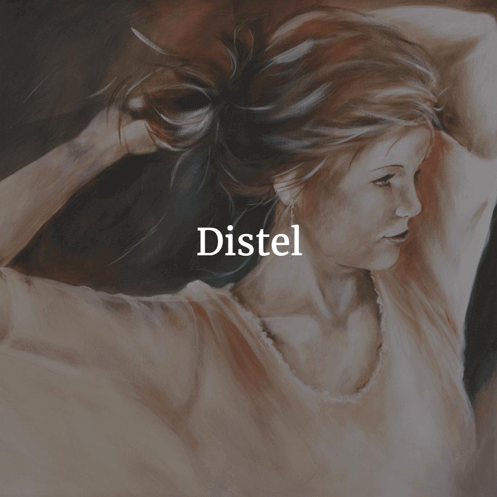 Distel schilderijen