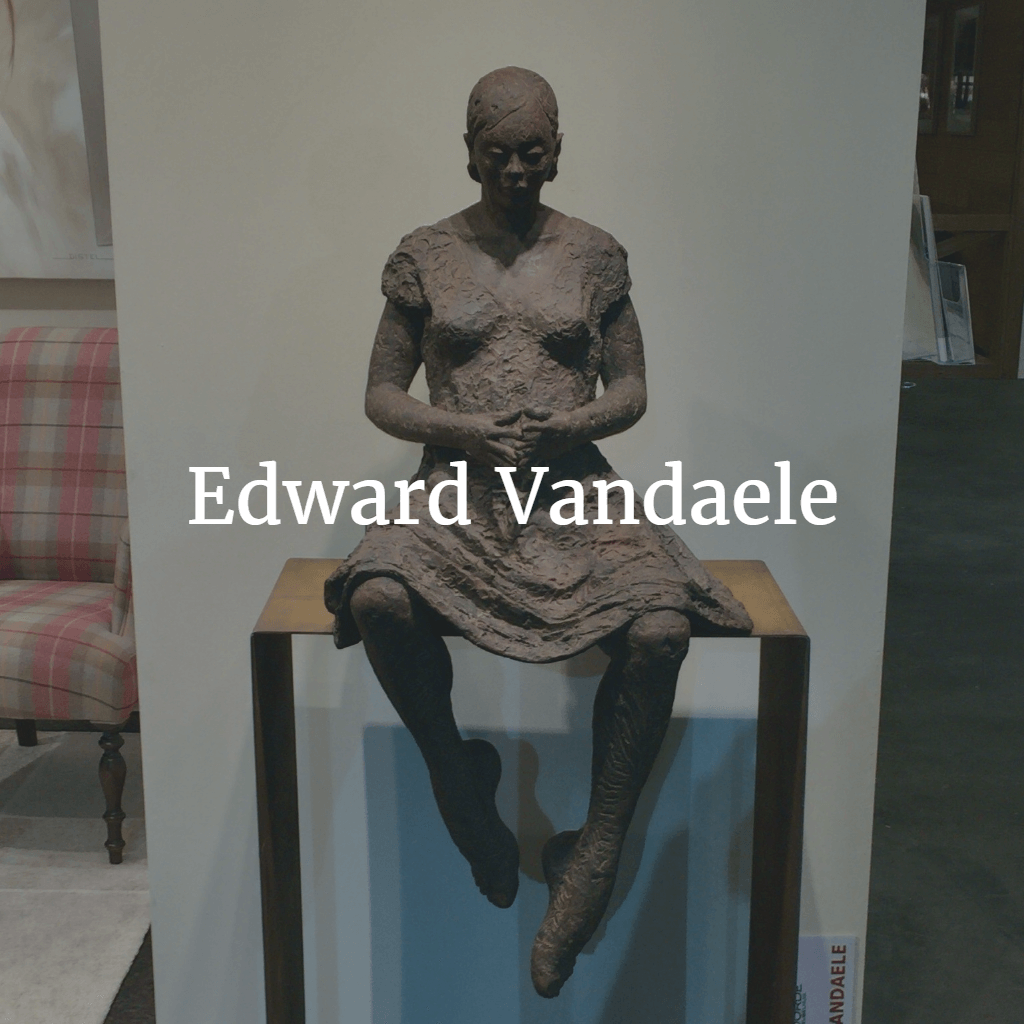 Edward Vandaele bronzen beeld