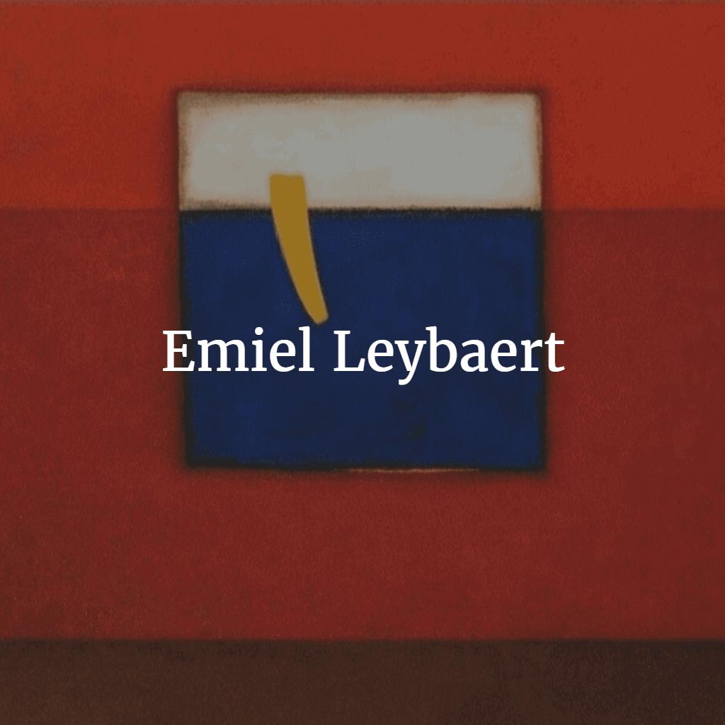 Emiel Leybaert schilderij