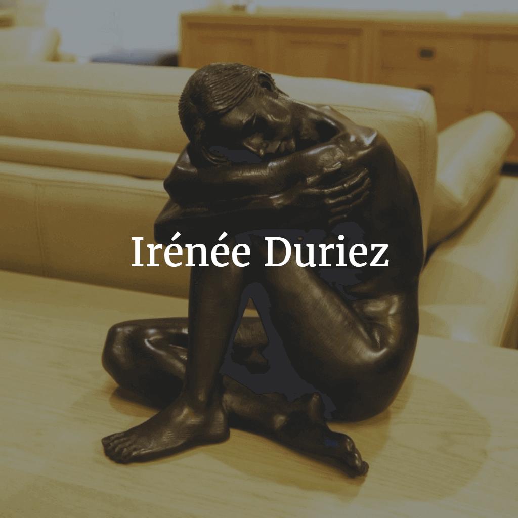 Irénée Duriez bronzen beeld