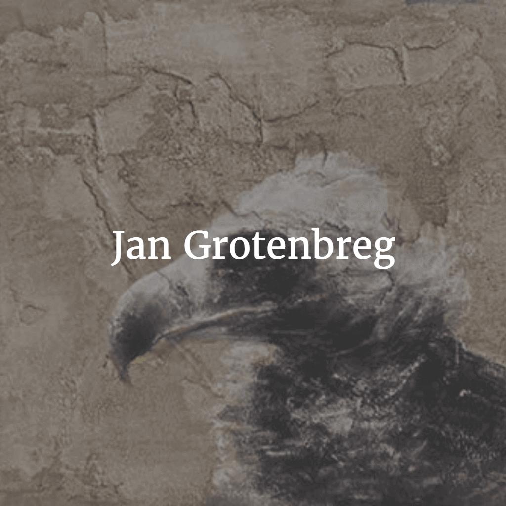 Jan Grotenbreg cement schilderij
