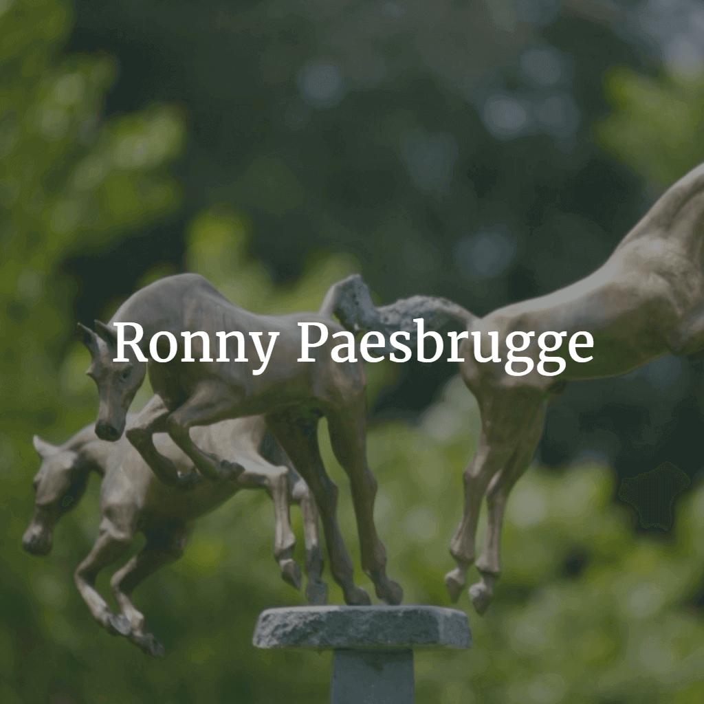 Ronny Paesbrugge bronzen beelden