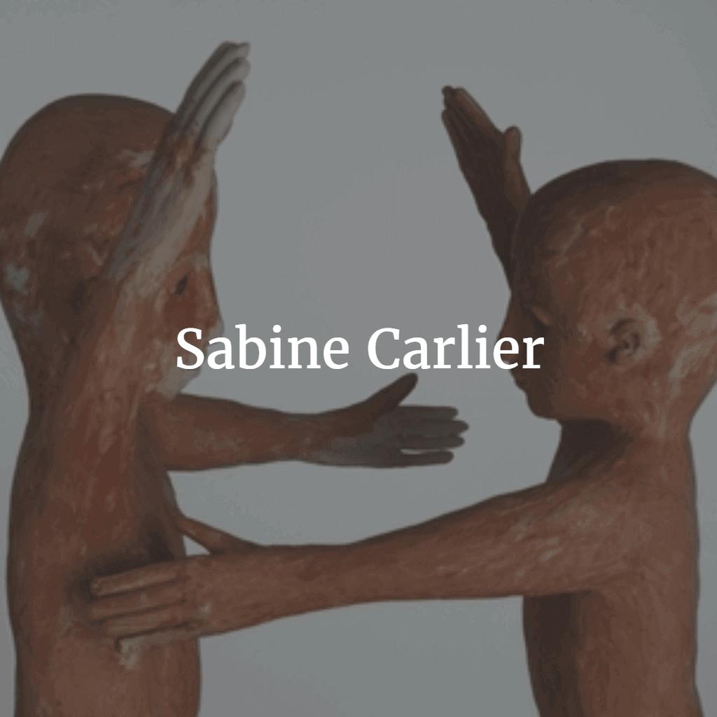 Sabine Carlier beelden in klei