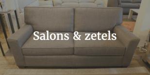 Bekijk ons ruim aanbod van salons & zetels