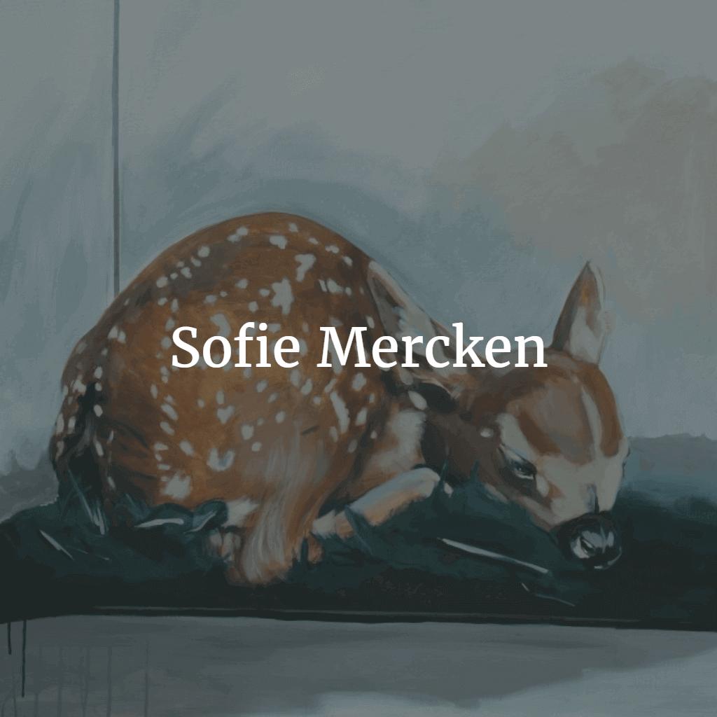 Sofie Mercken schilderij