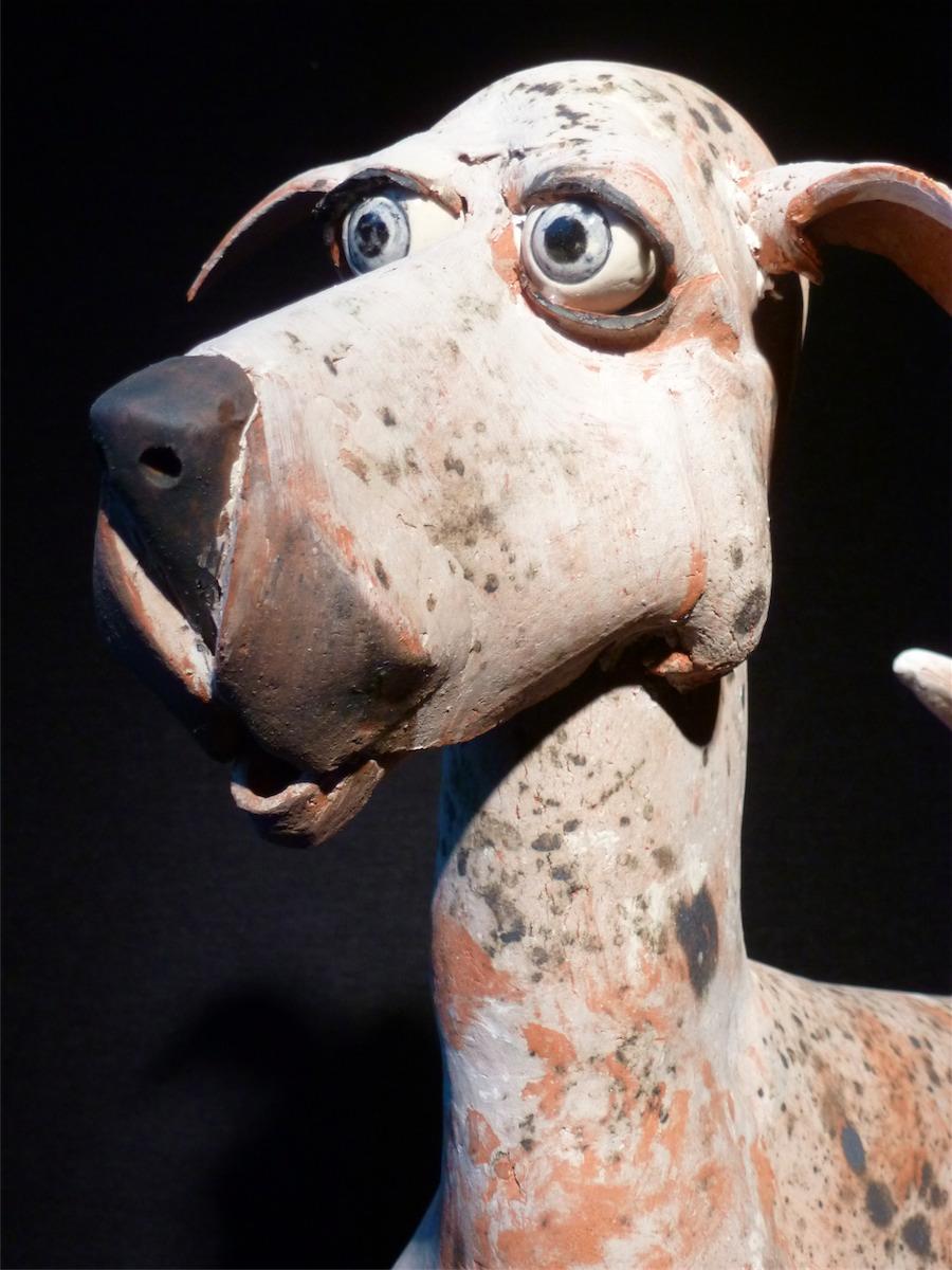 Paul De Vos staande hond