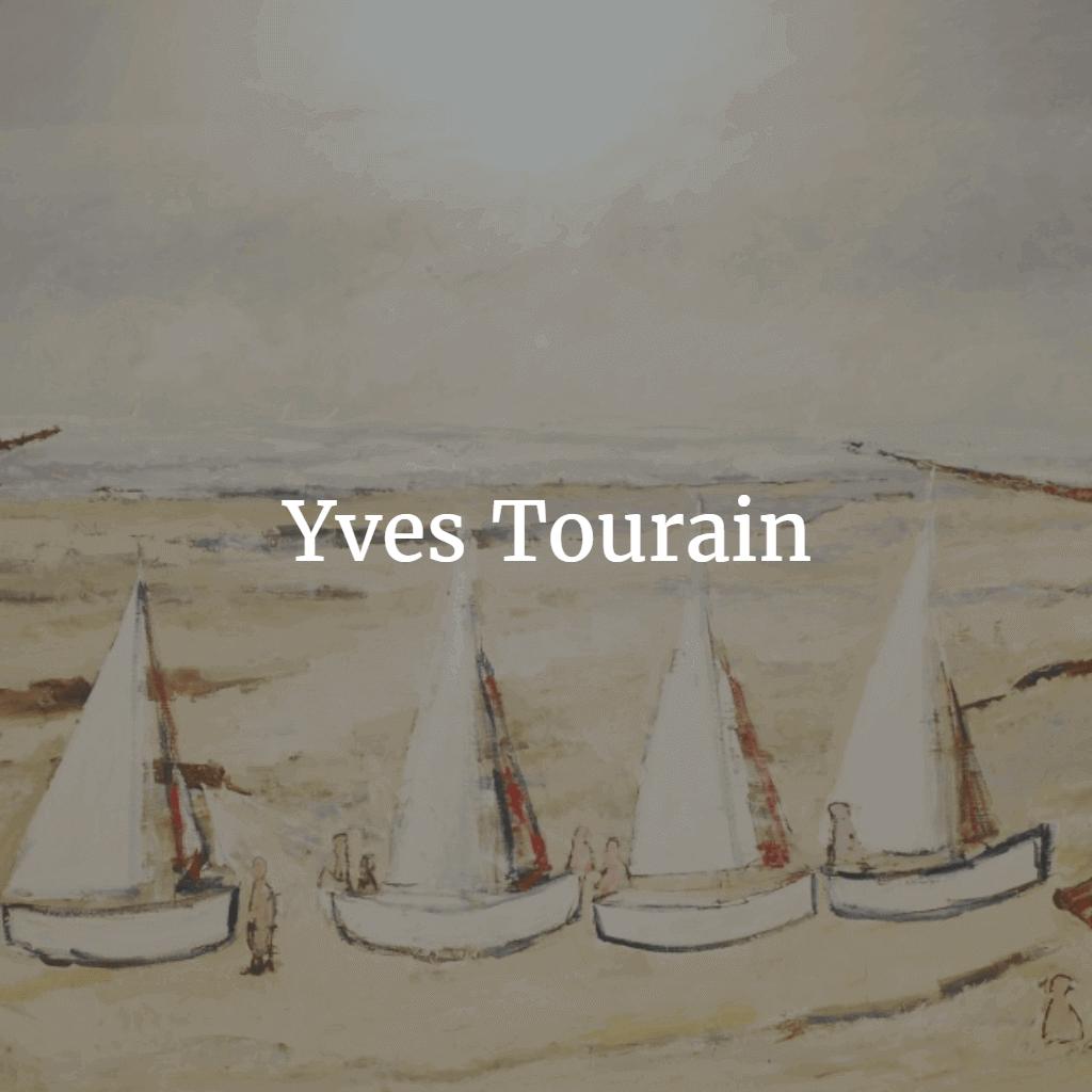 Yves Tourain schilderijen